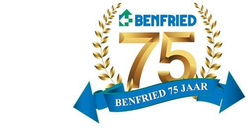 Benfried 75 jaar!